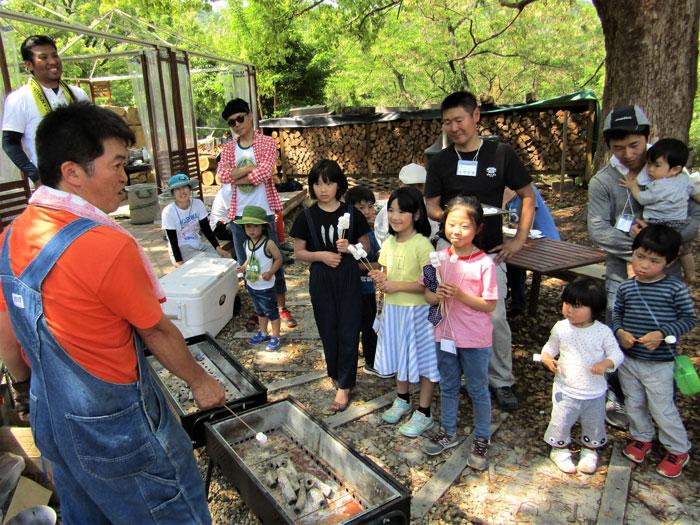 春の薪割り&BBQ(2)